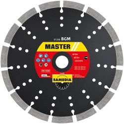 Disc diamantat BGM 350x25.4 mm pentru beton, beton armat, granit