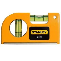 Nivela magnetica de buzunar 85 mm Stanley