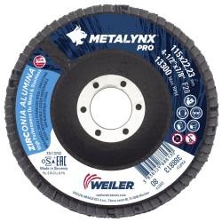 Disc lamelar 115 mm, granulatie 80 polizare metal si inox...