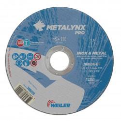 Disc abraziv 125x1.0 mm debitare inox Metalynx Pro