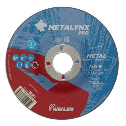 Disc abraziv 125x6.5 mm polizare metal Metalynx Pro