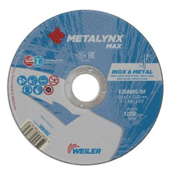 Disc abraziv 125x1.0 mm debitare metal+inox Metalynx Max
