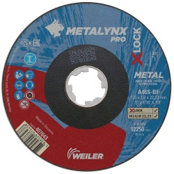 Disc abraziv 125x1.6 mm debitare metal X-LOCK Metalynx Pro