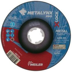 Disc abraziv 115x6.5 mm polizare metal X-LOCK Metalynx Pro