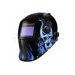 Masca automata pentru sudura IWELD FANTOM 4 Blue-Skull