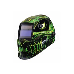 Masca automata pentru sudura IWELD NORED EYE 2 Green-Skull