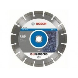 Disc diamantat 125x22.23 mm Bosch pentru piatra