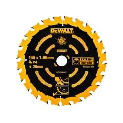 Panza de ferastrau circular Dewalt EXTREME 165x20,Z 24 DT10300-QZ