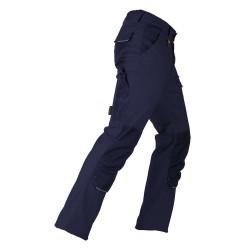 Pantaloni standard albastrii Kapriol TENERE PRO