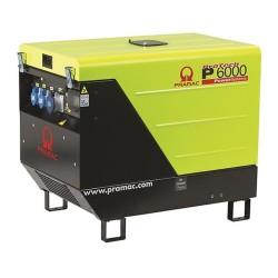 Generator de curent monofazat Pramac P6000  + AVR + CONN + DPP