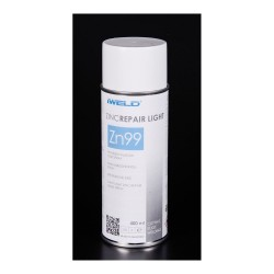 Spray finisare zinc 99% Iweld ZINKREPAIR LIGHT, 400 ml