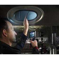 Camera inspectie Bosch compatibila cu acumulator Li-Ion 12 V GIC 120 C
