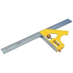Echer combinat Stanley cu maner din otel 300 mm 2-46-028