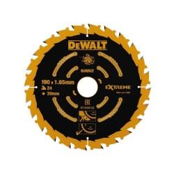 Panza de ferastrau circular Dewalt EXTREME 190x30,Z 24 DT10304