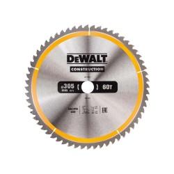 Panza de ferastrau circular Dewalt CONSTRUCTION 305x30,Z 60 DT1960-QZ